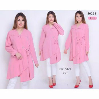 BAJU BIGSIZE MURAH - DRESS MINI MYRTLE JUMBO (50295)