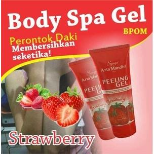 [ STRAWBERRY ] BODY SPA PERONTOK DAKI BPOM