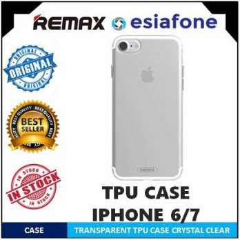 [esiafone back cover] REMAX Crystal Series TPU Case for Samsung S7 / Edge / S8 / Plus / iPhone