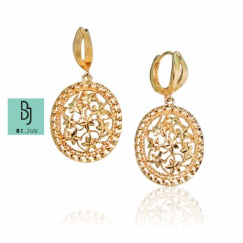BE.JUU Anting Winter Flower Korean Jewelry