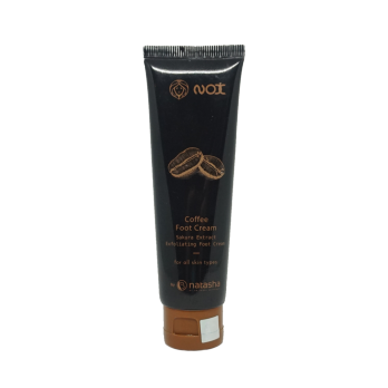 Nox Coffee Foot Cream, Sakura Extract Exfoliating Foot Cream