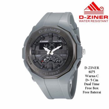 Jam Tangan Pria / Jam Tangan Murah D-Ziner Stark Fashion Three Color YRA-4550