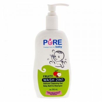 Pure Baby Wash 2 in 1 Fruity 230ml