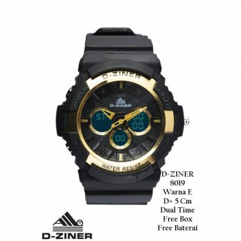 Jam Tangan Pria / Jam Tangan Murah D-Ziner Zum Fashion One Color + Box YRA-4584