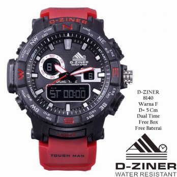 Jam Tangan Pria / Jam Tangan Murah D-Ziner Man Fashion Six Color + Box YRA-4593
