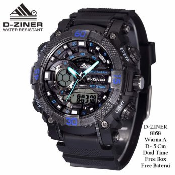 Jam Tangan Pria / Jam Tangan Murah D-Ziner Bike Fashion One Color YRA-4606