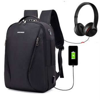 Dingxinyizu Backpack Import Anti Theft With USB Charger & Earphone Cable
