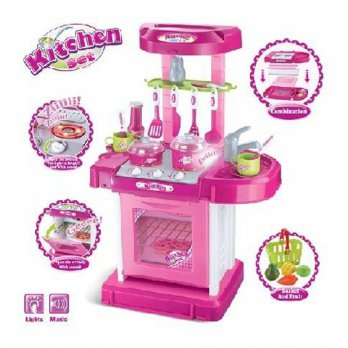 SALE Kitchen Set Koper Mainan Anak Masak / Dapur