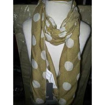 Zara Scarf polka - brown