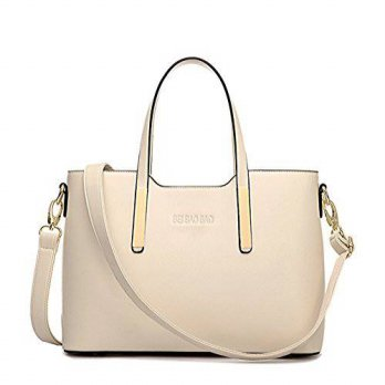 [macyskorea] XMLiZhiGu Womens PU Leather Tote Shoulder Crossbody Bag Top-Handle Handbag Be/19175084