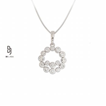 BE.JUU Kalung Miracle Of Love Silver Korean Jewelry