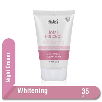 RISTRA TOTAL CONCEPT WHITENING STIMULATING NIGHT CREAM TUBE 35 G