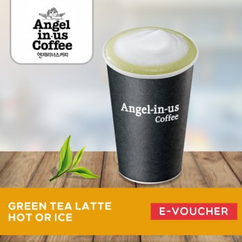 Angel in us Coffee - Green Tea Latte HOT/ICE