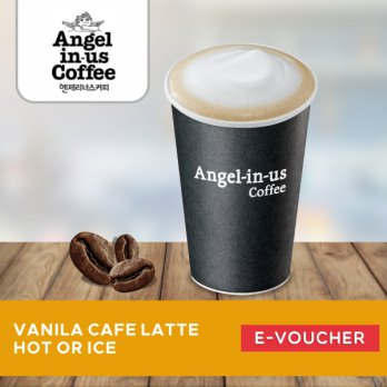 Angel in us Coffee - Vanilla Cafe Latte HOT/ICE