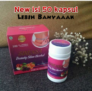 Sinensa Beauty Slim Herbal BPOM Original - Pelangsing Herbal BPOM