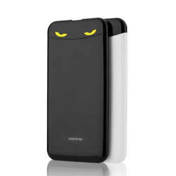 Promo Power Bank Hippo Eyes 7000 mAh - Stylish \ Micro LED\Dual Output 2.1A