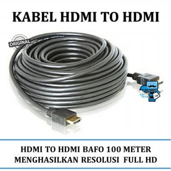 Promo Kabel HDMI BAFO HDMI to HDMI 10M Meter - Very High Quality Durable