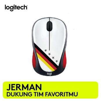Promo Mouse Wireless Logitech M238 Fan Collection World Cup - Jerman