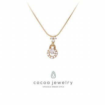 Cocoa Jewelry Kalung Shining Crystal