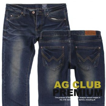 Wholesale Three Days Apgujeong Club Date CL206 Slim Jeans Male Man Men Casual Men's Casual Clothing Fashion Clothing Casual Clothes Cache