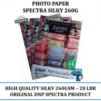Promo Photo Paper Silky Spectra 260GSM High Quality