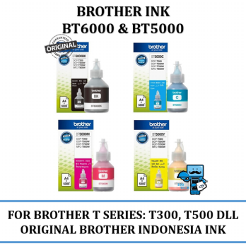 Promo Tinta Brother BT 6000  BT 5000 - Original Tinta T300,T500W,T700W