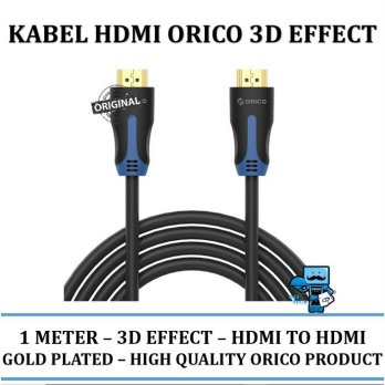 Promo Kabel HDMI Orico support 3D effects  1 meter