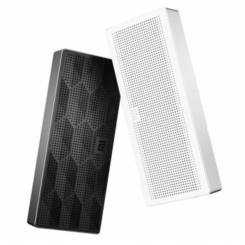 Xiaomi Speaker Bluetooth Portable Cube Original Bass Stereo - Putih & Hitam