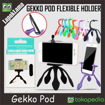 Gekkopod Gekko Pod Mini Tripod Smartphone Mount Portable And Fleksible