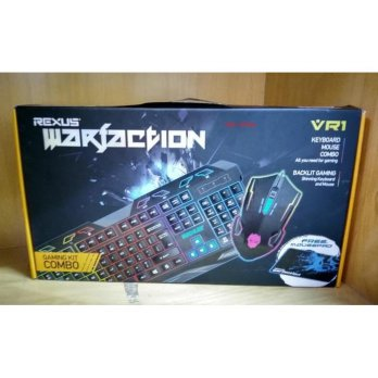 Keyboard & Mouse Gaming Rexus Warfaction Vr1