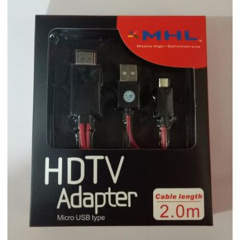 Kabel HDMI 5 Pin HDTV Adapter MHL OTG Micro Usb