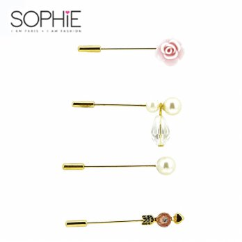 Sophie Paris Kasandra Bross Set Gold-BR293G1