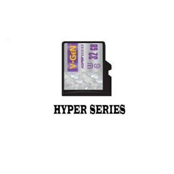 V-GEN Micro SD 32GB Non Adapter Hyper Series Class 10 Ultra 3