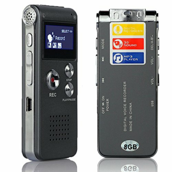 Voice Recorder Suara + Mp3 Player 8gb