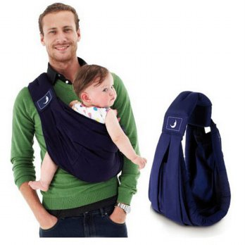 Sling Baby Carrier - Deep Blue