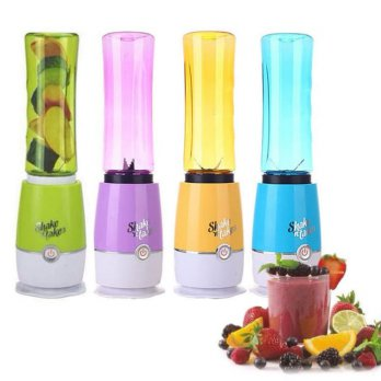 Juicer / Blender Portable Shake n Take 3 Double Cup 2 Botol Praktis