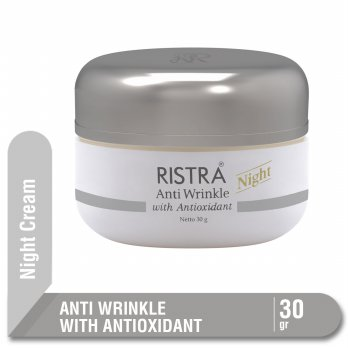 RISTRA ANTI WRINKLE WITH ANTIOXIDANT NIGHT CREAM JAR 30 G