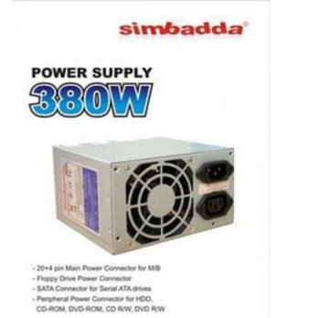 Power Supply Simbadda  Tray 380 Watt Mini  - Power Supply