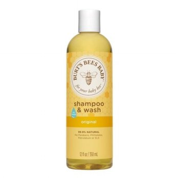 Burt's Bees Baby Shampoo and Wash Original 350ml