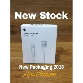 APPLE 2M ORIGINAL USB DATA LIGHTNING CHARGING CABLE FOR iPhone