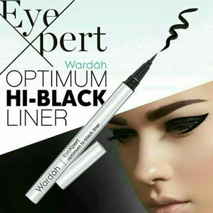 Wardah Optimum Hi-Black Liner Original - Eye Liner