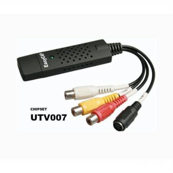 HOT PROMO!!! EasyCAP USB Video Capture Adapter 1 Channel