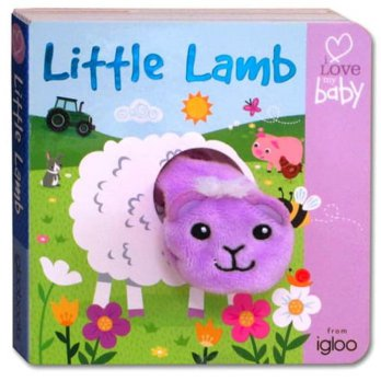 Terlaris Buku Edukasi Anak I Love My Baby LITTLE LAMB Finger Puppet Fun Board Book
