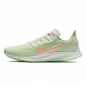 Sepatu Olahraga Lari Senam Gym Nike Air Zoom Pegasus 36 Women's Running Shoes- Lime AQ2210002