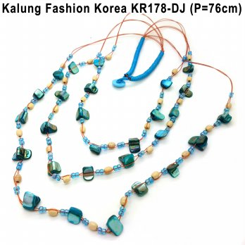 Kalung Fashion Korea Statement Necklace Murah Cantik KR178-DJ