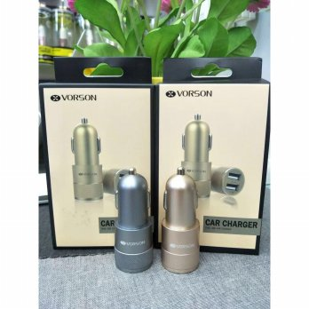 Dual USB Car Charger 2.1 a Vorson