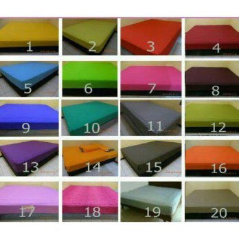 120x200 Waterproof Anti Air Basah Ompol Sprei Seprei Kasur 120 x 200