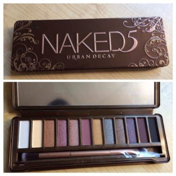 NAKED 5 NEW EYESHADOW URBAN DECAY