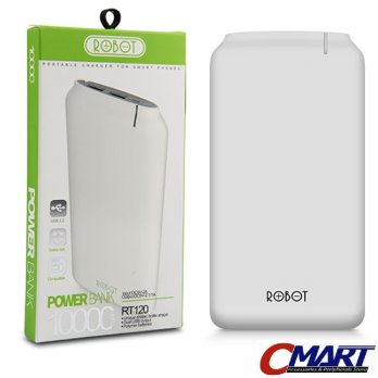 Robot PowerBank RT120 10000 mAh Original Power Bank 10000mAh ROB-RT120