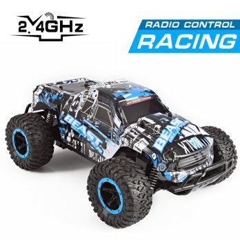 RC Cheetah King Truggy Car 2.4G Skala 1:16 Offroad RTR UJIe